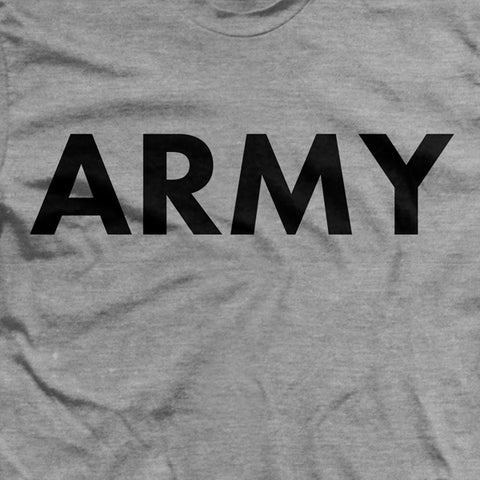 Army Gray PT T-Shirt