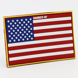 American Flag PVC Patch