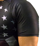 American Flag Rash Guard