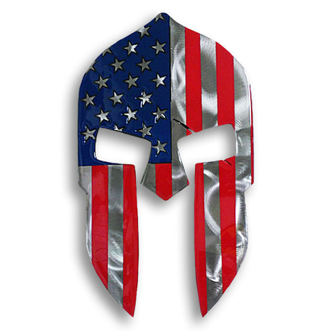 American Spartan American Liquid Metal Sign