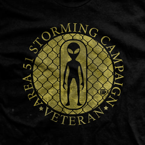 Area 51 Campaign Medal T-Shirt