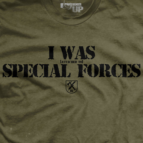 Attached To Special Forces T-Shirt