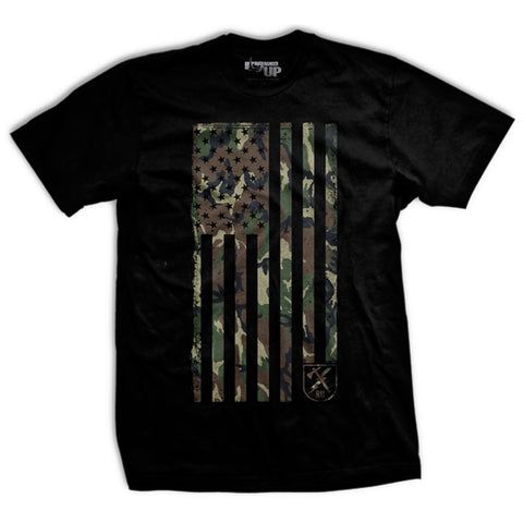 BDU Camo Flag T-Shirt