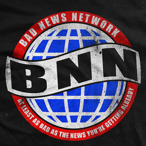 Bad News Network BNN Black T-Shirt