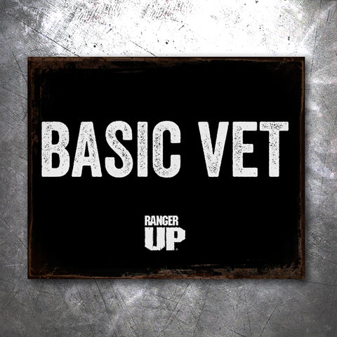 Basic Vet Vintage Tin Sign