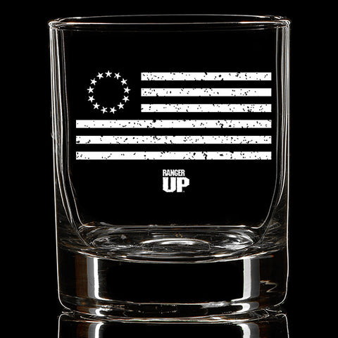 Betsy Ross Whiskey Glass