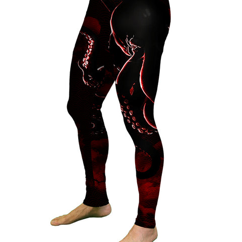 MEN'S Black Octopus Meggings