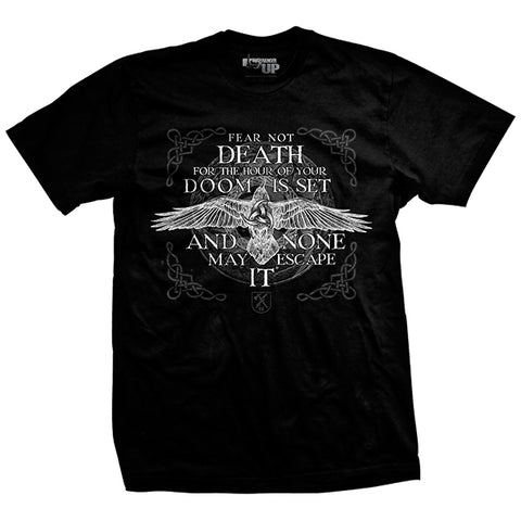 Black Raven Viking T-Shirt