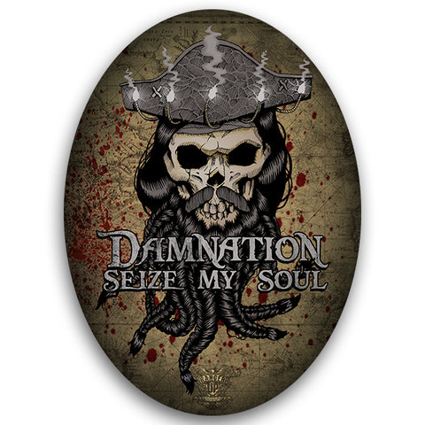 Blackbeard Damnation Sticker