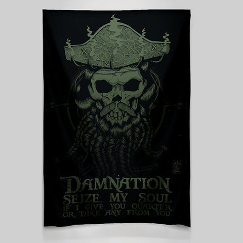 Blackbeard Wall Tapestry