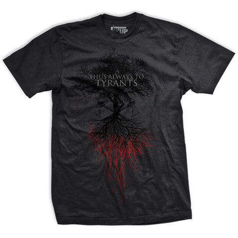 Blood of Patriots Liberty Tree Ultra-Thin Vintage T-Shirt
