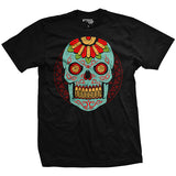 Halloween - Blue Sugar Skull Shirt