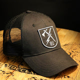 Ranger Up Tomahawk and Lightning Bolt Logo Hat
