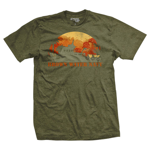 Brown Water Navy T-Shirt