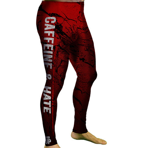 MEN'S Caffeine And Hate Meggings