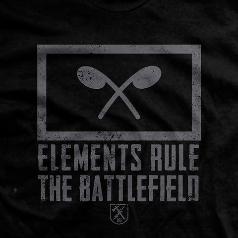 "Chemical Corp ""Elements Rule the Battlefield"" T-Shirt"