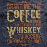 Coffee & Whiskey Prayer T-Shirt