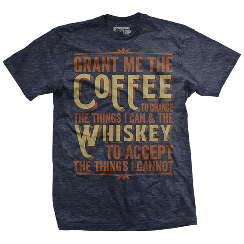 Coffee & Whiskey Prayer T Shirt