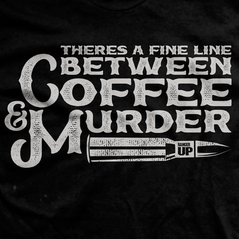 Coffee & Murder T-Shirt