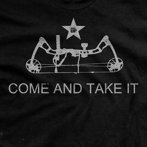 Come And Take It Compound Bow T-Shirt