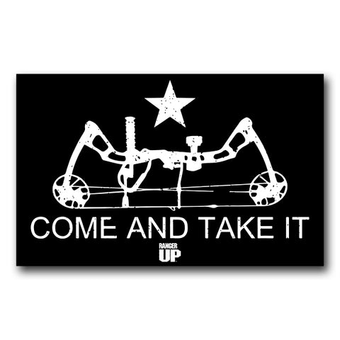 Come And Take It Sticker