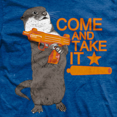 Come and Take It Otter T-Shirt