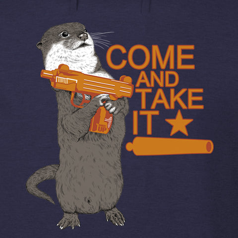 Come And Take It Otter Hoodie