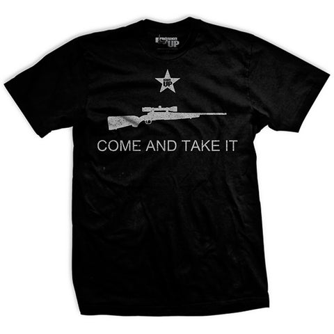 Come And Take It Rifle Shirt