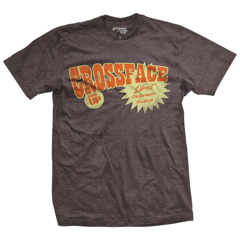 Crossface Wrestling Vintage-Fit T-Shirt