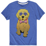 Kid's Patriot Pup Tee