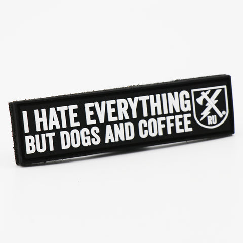 Dogs and Coffee PVC Patch