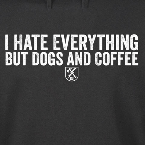Dogs and Coffee Hoodie