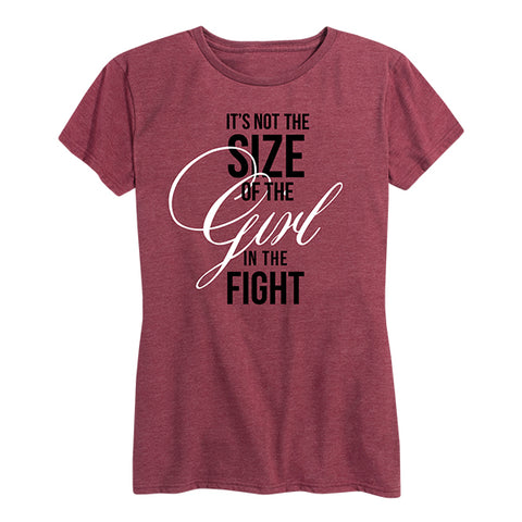 Women's Fight In The Girl Tee Red