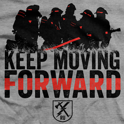 Keep Moving Forward (Fire) T-Shirt