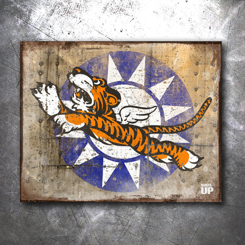Flying Tigers Tin Sign