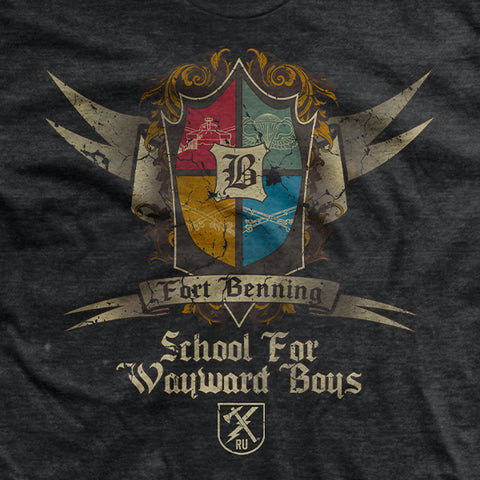 Fort Benning School for Wayward Boys T-Shirt