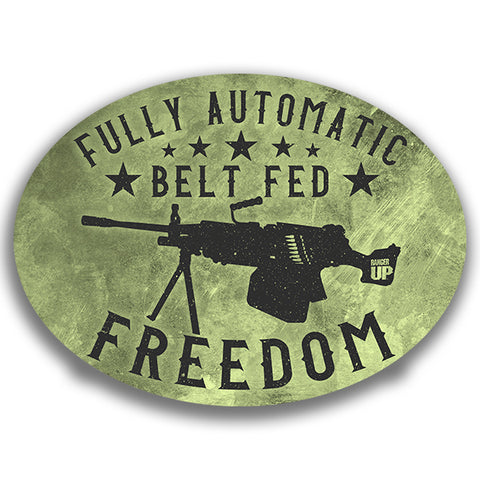 Fully Automatic Freedom Sticker