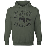 Fully Automatic Belt Fed Freedom Hoodie