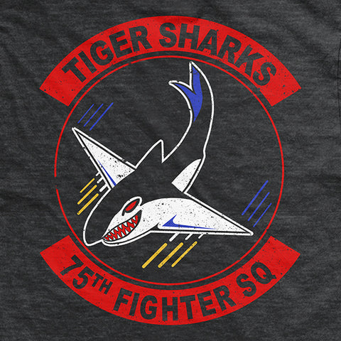 GOEF Tiger Sharks  T-Shirt Charcoal