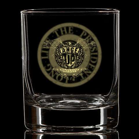 George Washington Coin Whiskey Glass