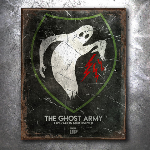 Ghost Army Tin Sign