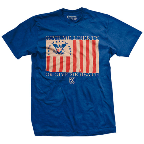 Give Me Liberty - Blue - T-Shirt
