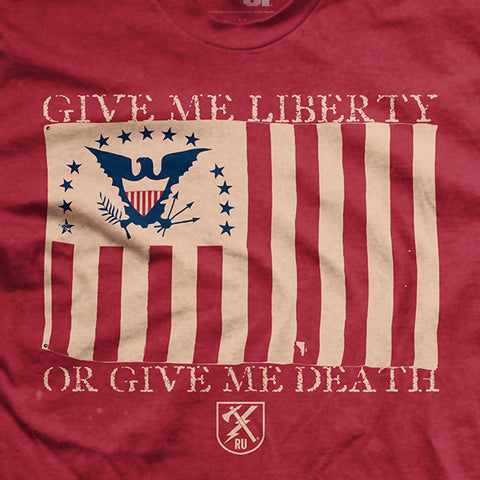 Give Me Liberty - Red - T-Shirt