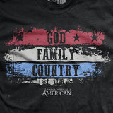 God, Family, Country T-Shirt