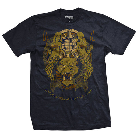 Domain of the Golden Dragon Navy T-Shirt