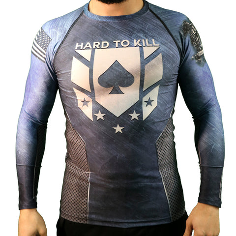 Tim Kennedy Hard To Kill Long-sleeve Rash Guard