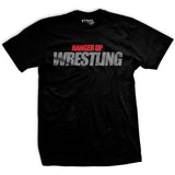 Hard Work Determines Wrestling T-Shirt
