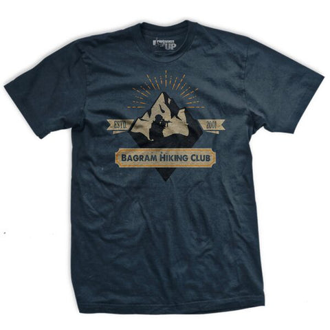 Bagram Hiking Club Ultra-Thin Vintage T-Shirt