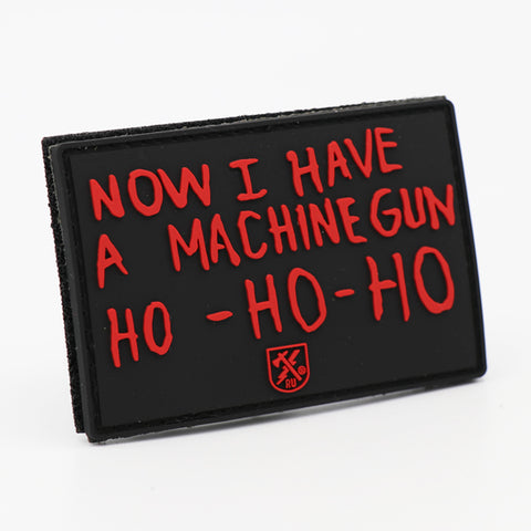 Ho Ho Ho PVC Patch