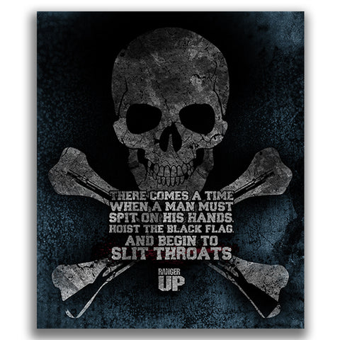 Hoist the Black Flag Sticker